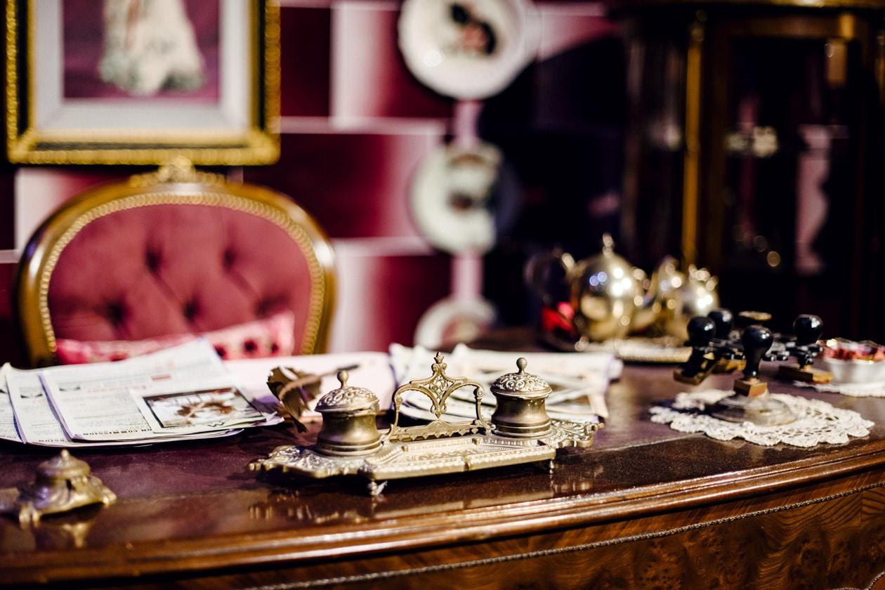 Visite des Studios Harry Potter à Londres – Le bureau de Dolores Umbridge au Ministère de la Magie