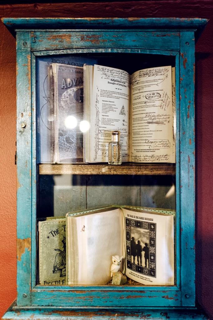 Visite de House of MinaLima à Londres – Sélection de livres de magie