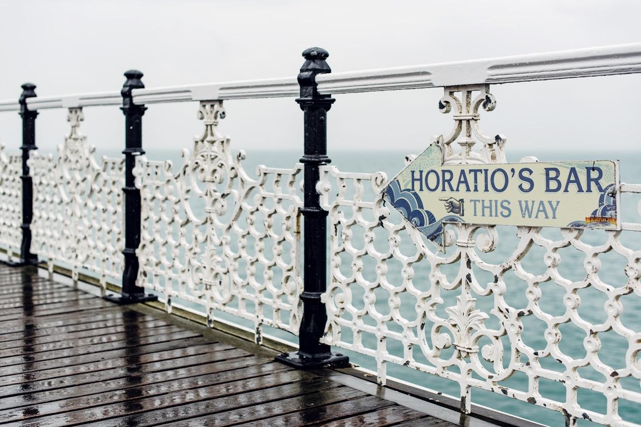 Balade sur la jetée de Brighton –Brighton Palace Pier