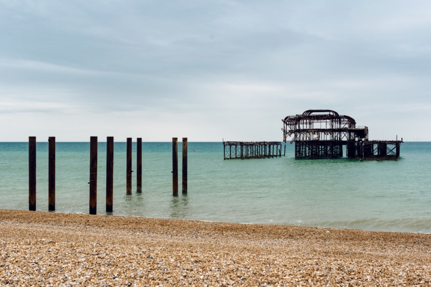 Brighton, sud est de l'Angleterre – The West Pier