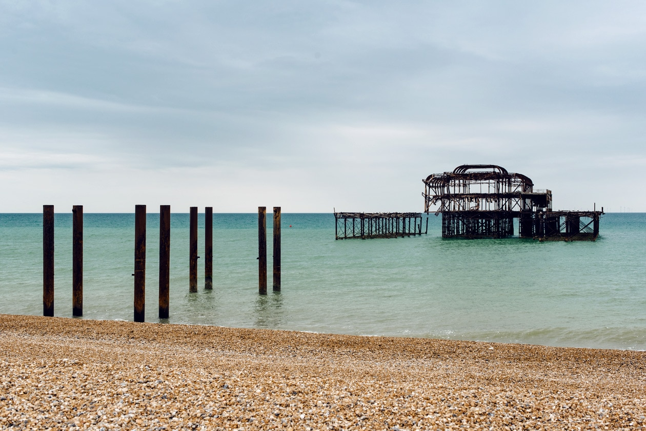 Brighton, sud est de l'Angleterre – The West Pier