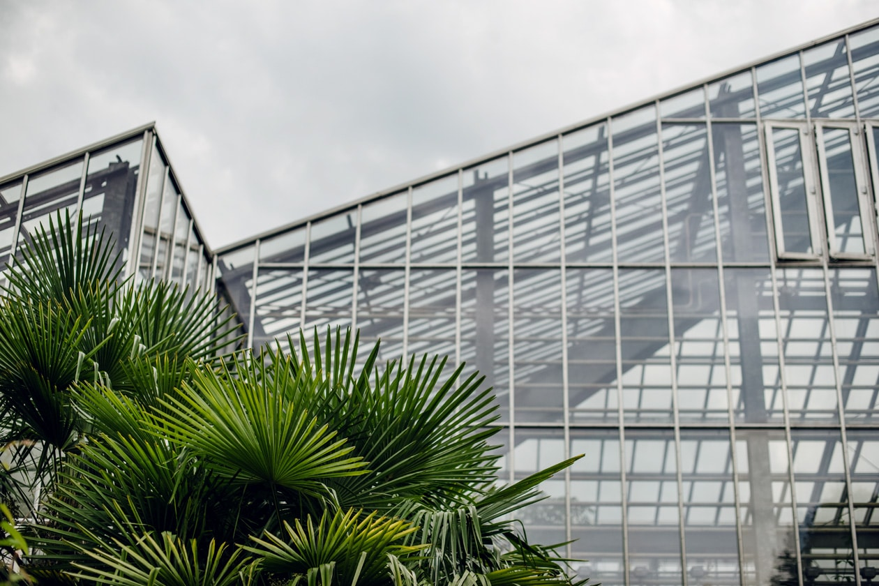 Freiburg im Breisgau – La grande serre du jardin botanique