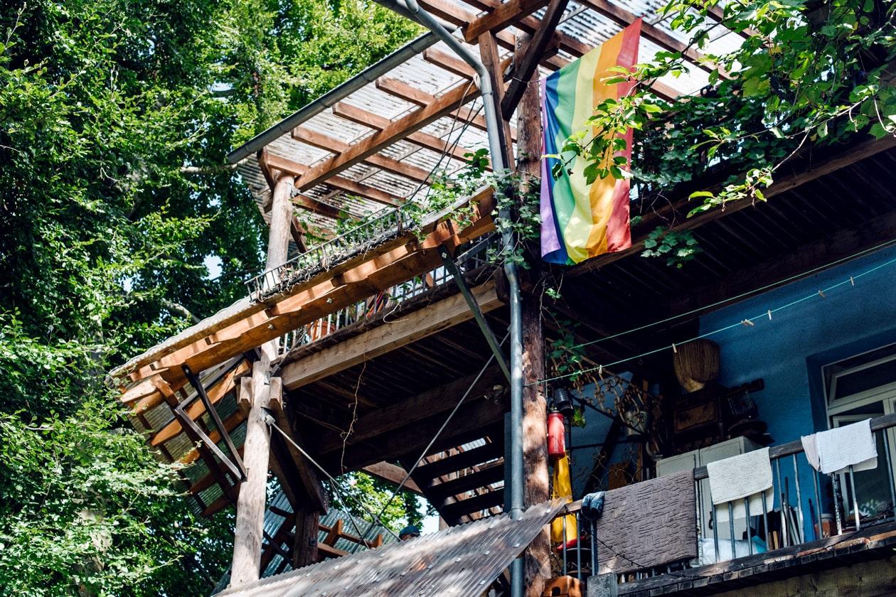 Freiburg im Breisgau – Bâtiment autogéré dans le quartier écologique Vauban