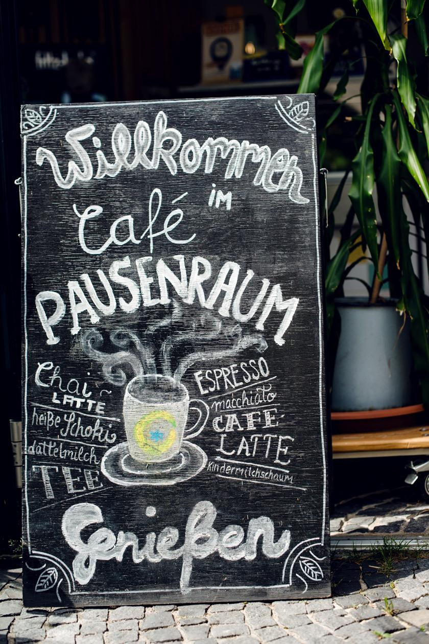 Pausenraum, café végétalien à Freiburg im Breisgau