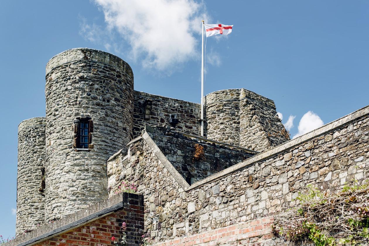 Visite du chateau médiéval de Rye