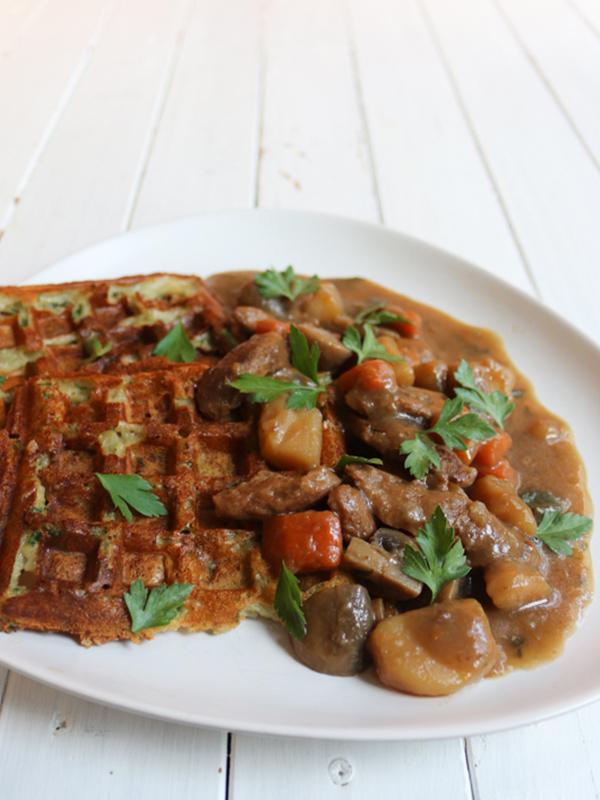 Irish Stew (ragoût à la bière) & gaufres de pommes de terre – Rose Citron