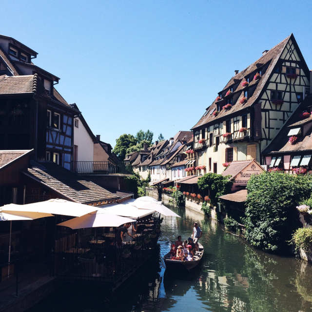 Quartier de la Petite Venise à Colmar