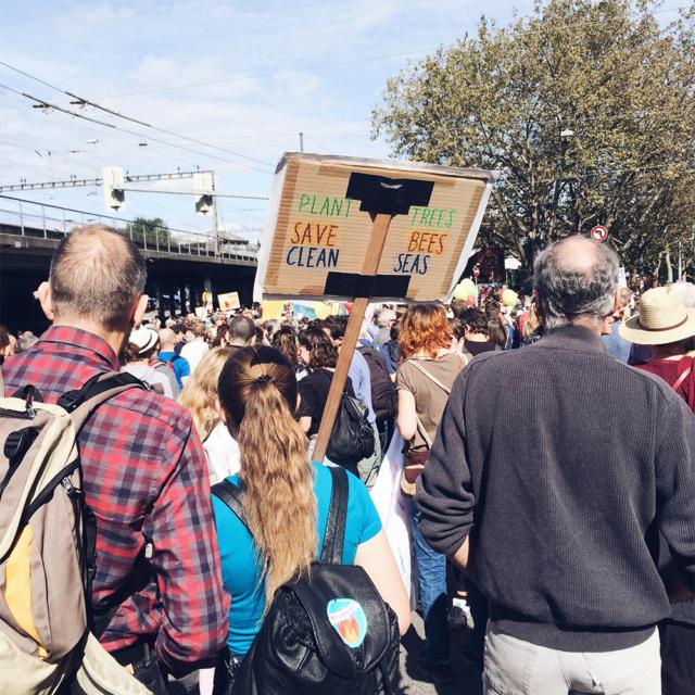 Manifestation nationale pour le climat