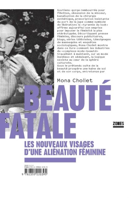 Beauté Fatale, Mona Chollet