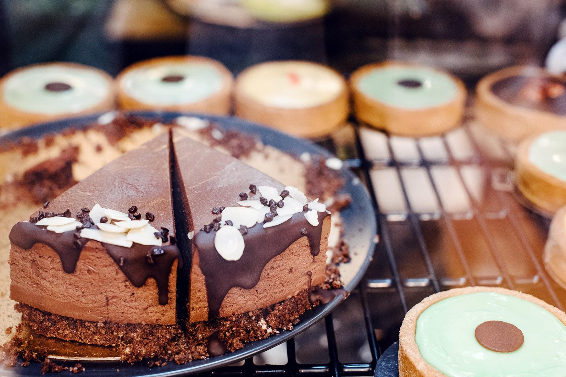 Goûter végétalien à Genève: gâteaux et tartelettes chez EnVie
