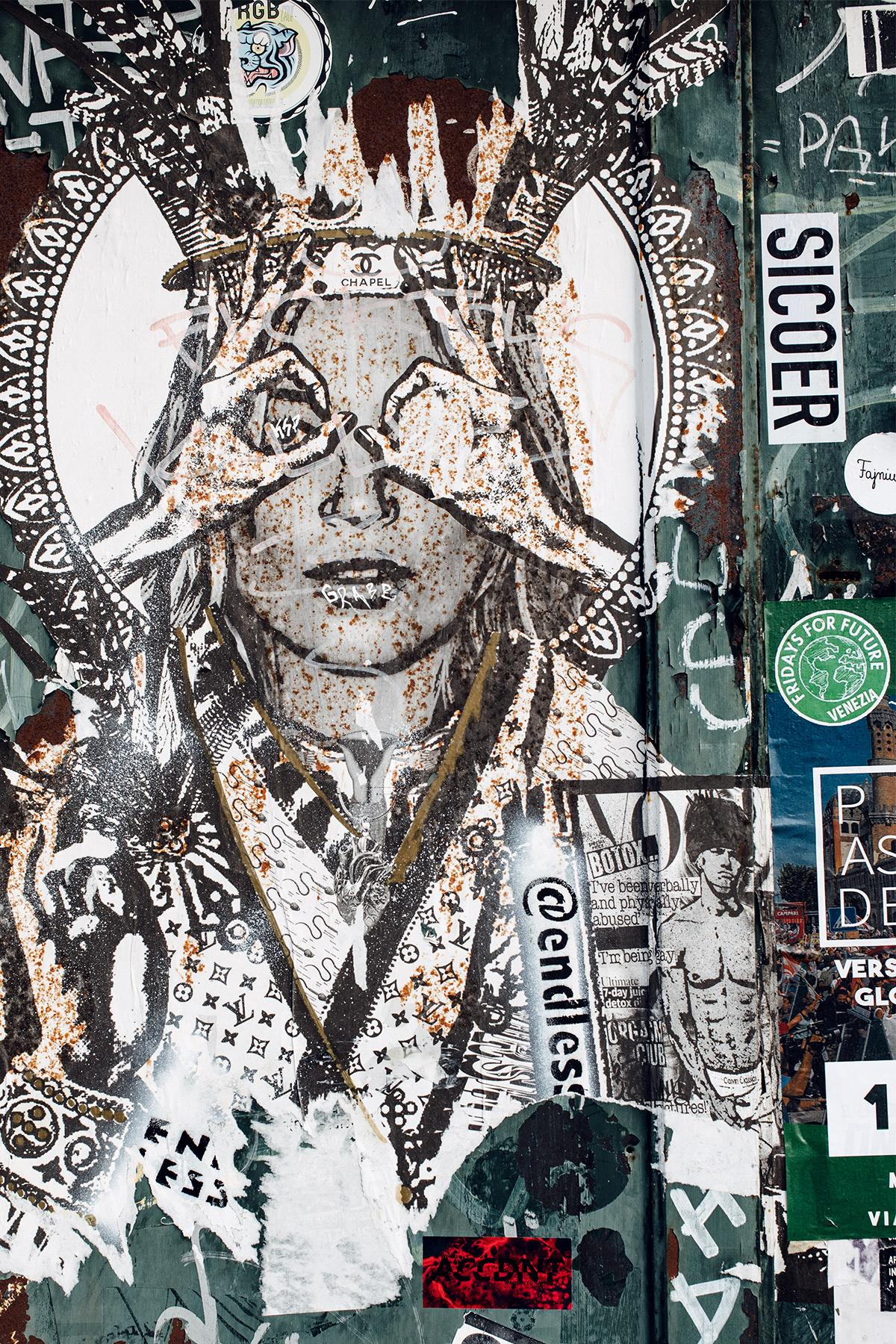 Venise: street art dans le quartier de Dorsoduro