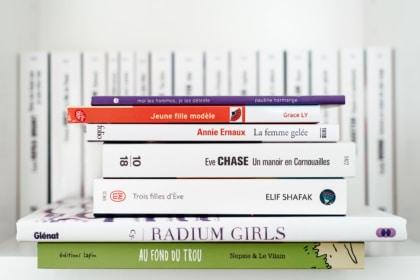 Livres lus en juillet, août et septembre 2020