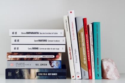 Pile à lire: 12 livres pour 2021