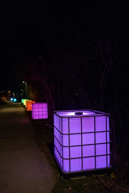 Flair Expo –Exposition d'art lumineux sur les rives du lac de Bienne