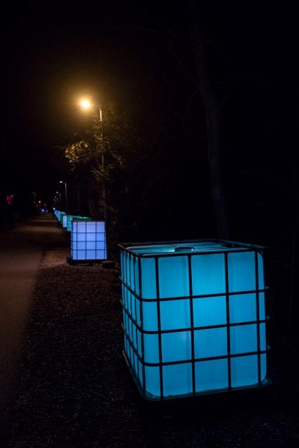 Flair Expo – Exposition d'art lumineux sur les rives du lac de Bienne