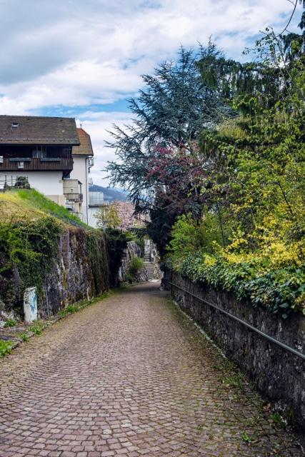 Une jolie ruelle de Bienne